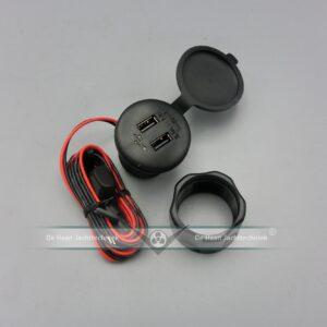DUBBELE USB POORT LADER